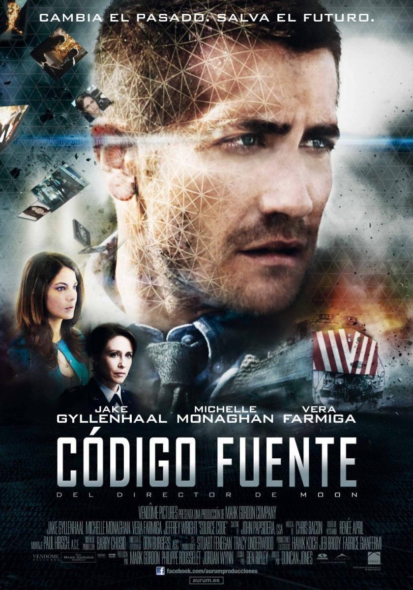 Codigo Fuente (2011) 7 Buenas peliculas, Carteles de