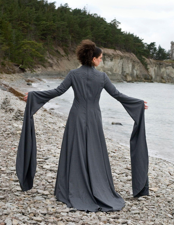 Viking Wedding dress Freja. Unique High Fashion.. 1,000