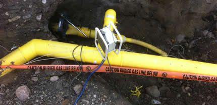 Edmonton Underground Gas Line Installation Installation
