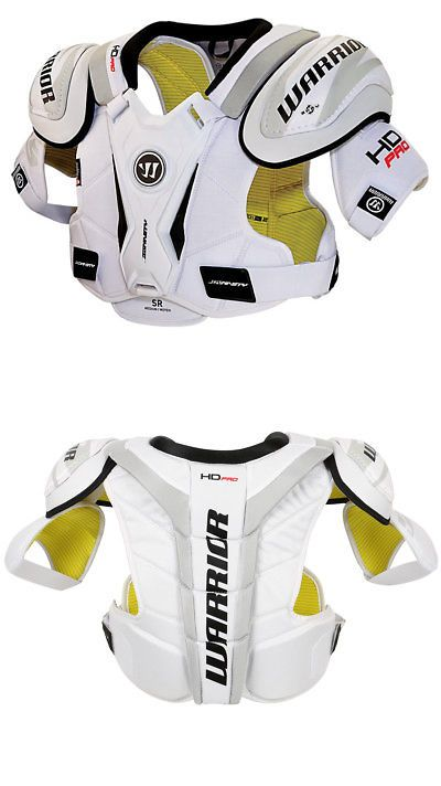 5202e168278 Pads and Guards 20856  Warrior Hd Pro White Int. L Xl New With Tags ...