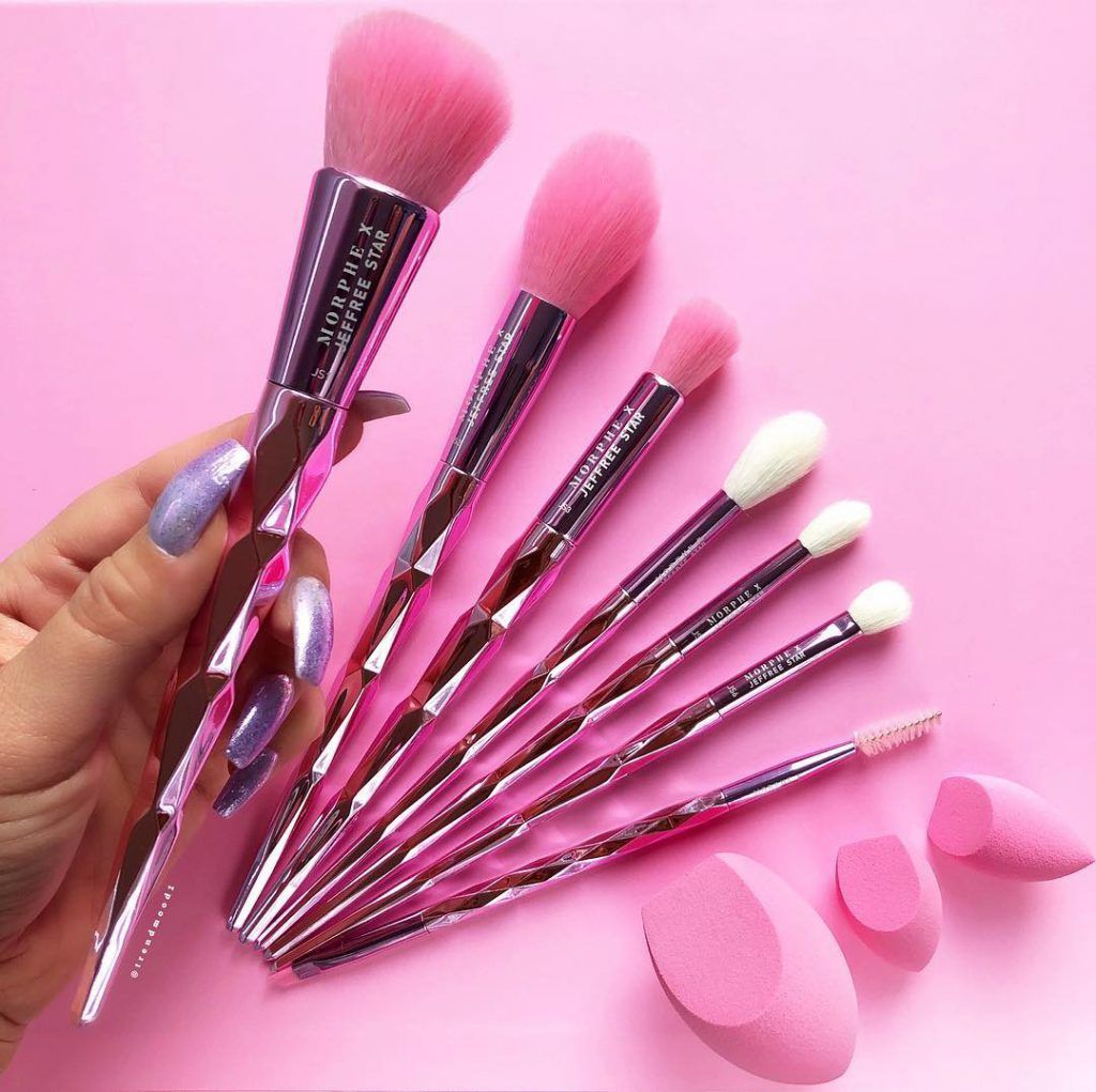 Morphe X Jeffree Star Face & Eye Brush Set Makeup brush