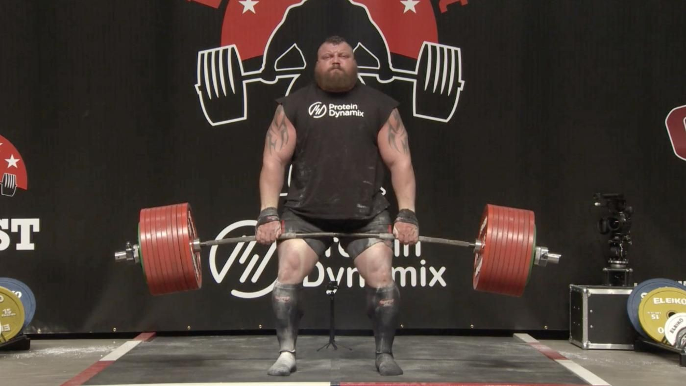 Eddie Hall Deadlifts 500kg For A New World Record Eddie Hall
