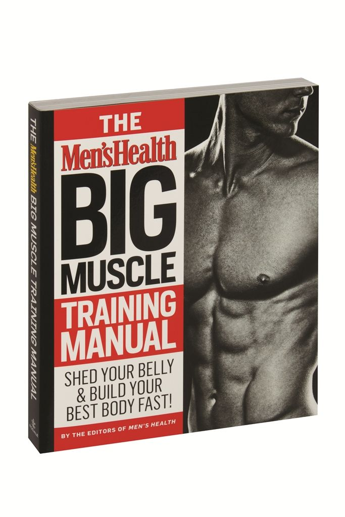 Menu0027s Health Big Muscle Training Manual The Menu0027s Health Shop - training manual