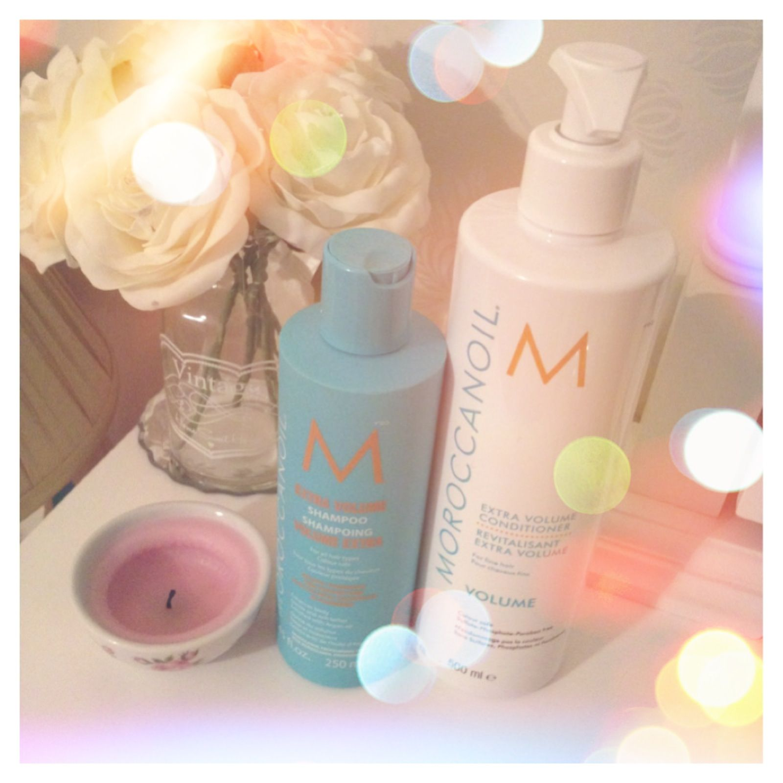 Moroccan oil shampoo and Conditioner, hair excitement!!! Xxx