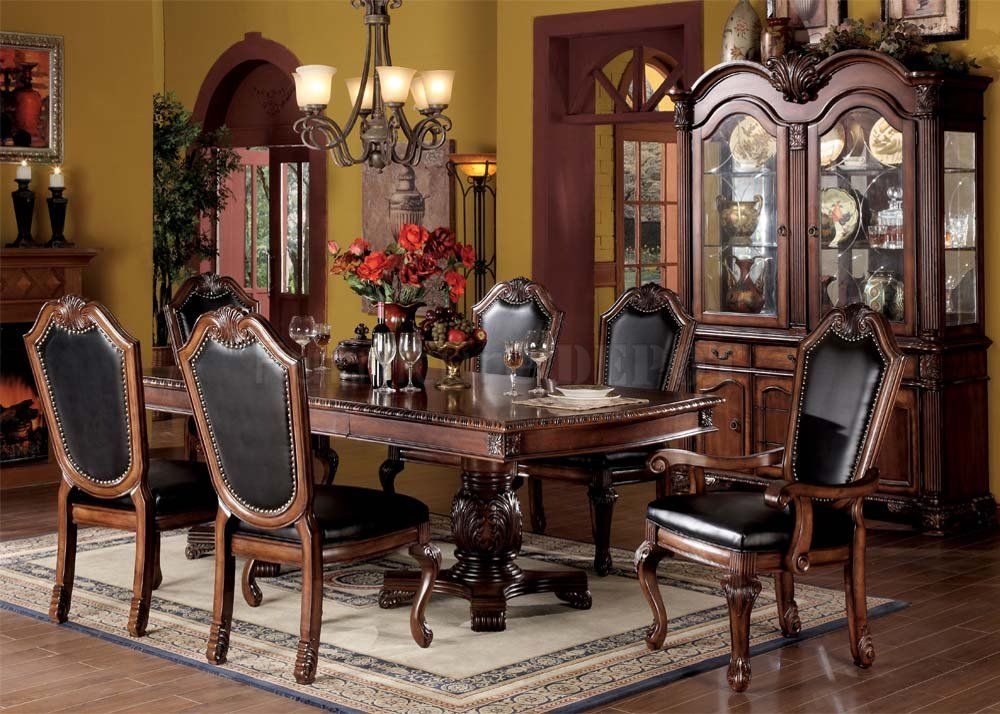 Formal Dining Room Chairs Black  The World Without Chairs Endearing Formal Dining Room Set Decorating Inspiration