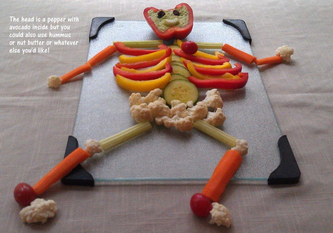 Fun Healthy Snacks For Human Body Preschool Theme