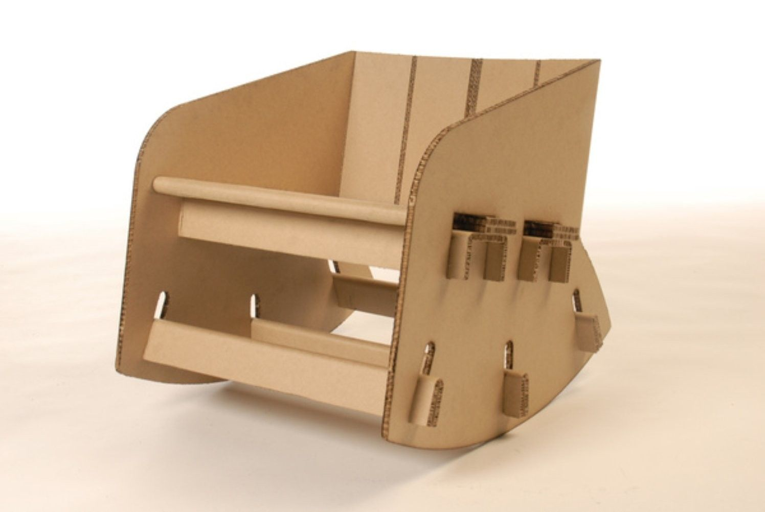 Furniture made of cardboard - a revolution in interior design 1