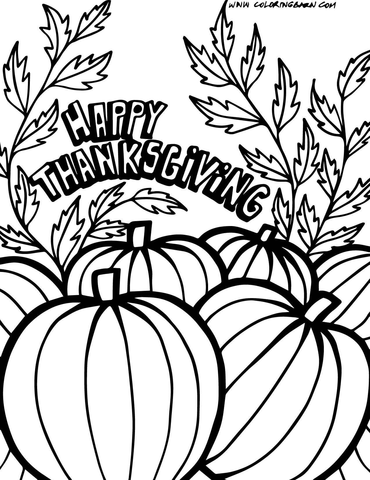 Coloring pitchers of animals - Free Thanksgiving Color Pages Coloring Picture Animal Mcoloring