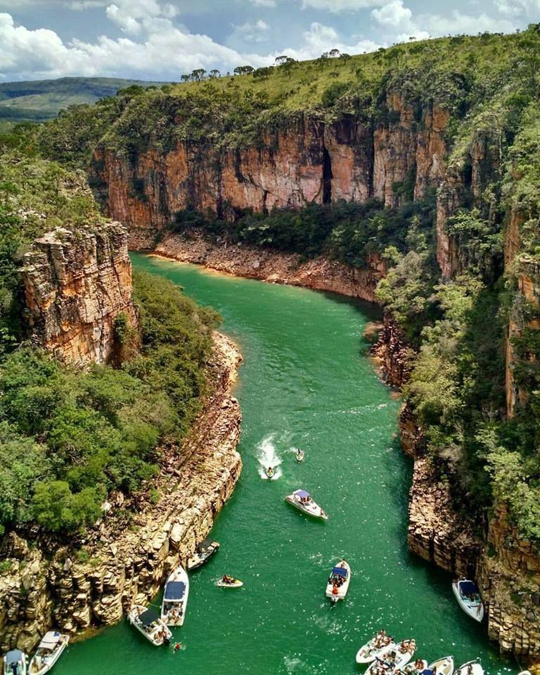 Canyons do Lago de Furnas (Foto: Raphael Moraes) # Minas Gerais