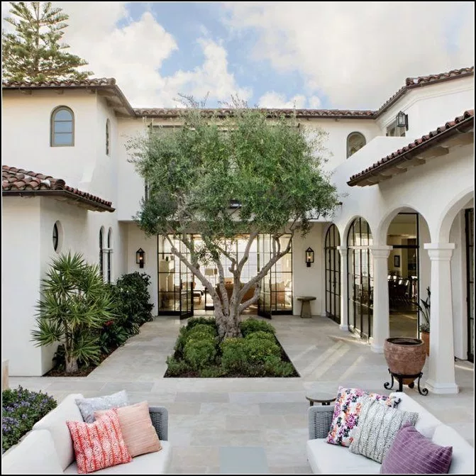 187 Stunning Modern Dream House Exterior Design Ideas Page 9 Spanish Style Homes Mediterranean Homes Spanish House