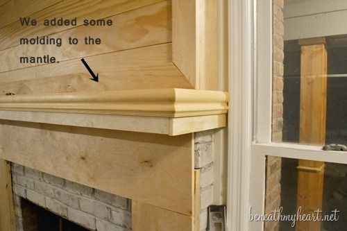 How To Build A Fireplace Surround Surrounds Remodel