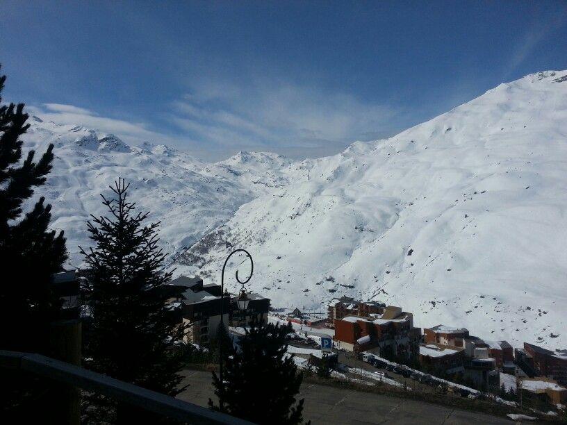 Un beau temps et de la belle neige