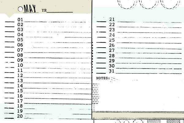4x6 monthly  u0026 weekly diy planner templates   meeting notes