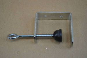 Lot Of 20 Metal C Clamp Bracket By Ffr Retail Sign Holder Sinage