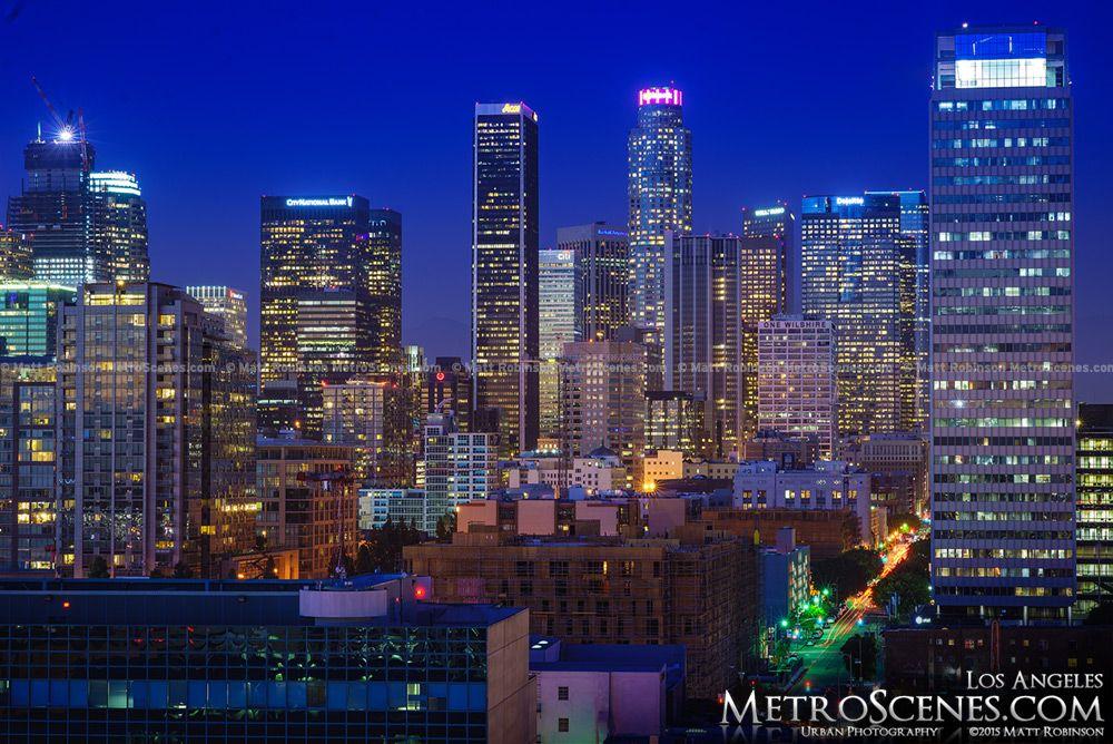 Los Angeles October 2015 Los Angeles At Night Los Angeles Downtown Los Angeles