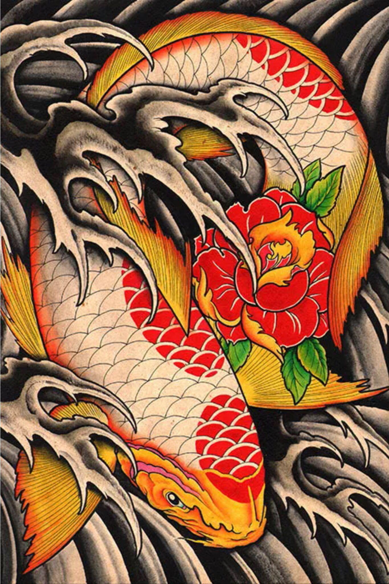 Awesome coy. Maybe a nice tatt option | Koi Fish | Pinterest | Tatt