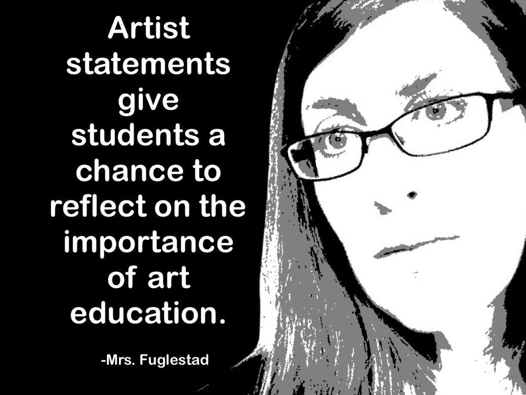 how to start an artist statement