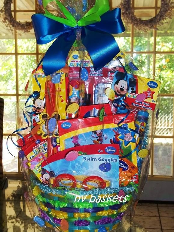 mickey mouse themed easter fun