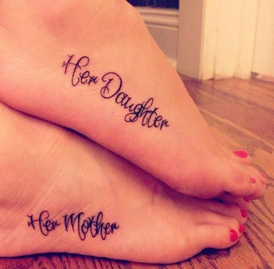 150 Adorable Mother Daughter Tattoos Ideas (June 2018) - Part 3 ...
