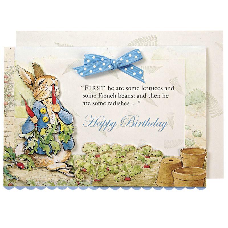 Peter Rabbit Greeting Card | Great Gifites, Batman!! | Pinterest ...