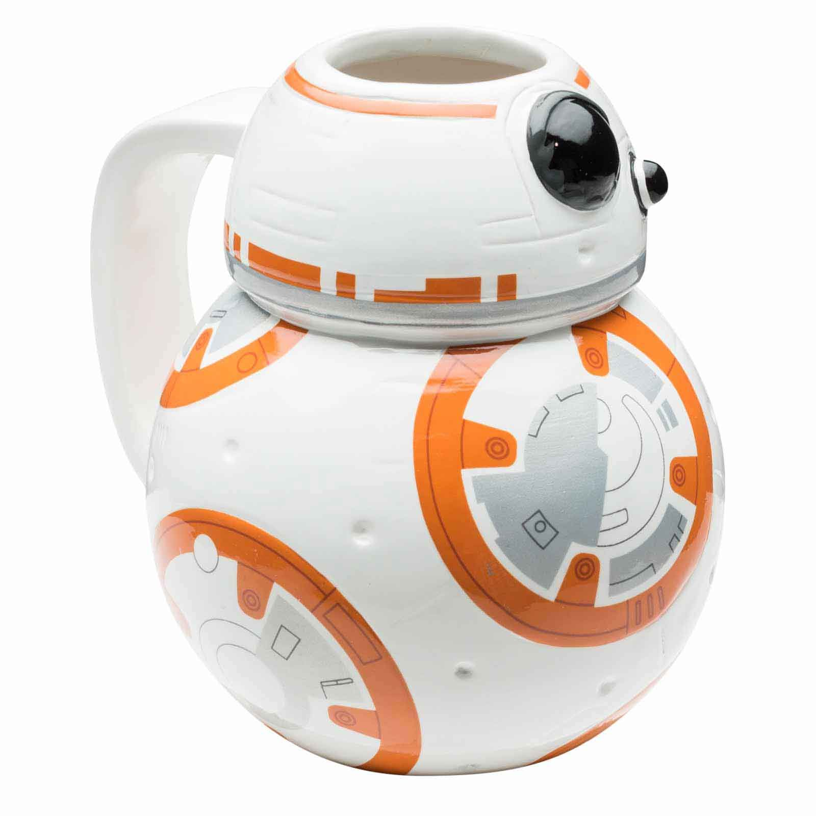 star wars sculpted coffee mug bb 8