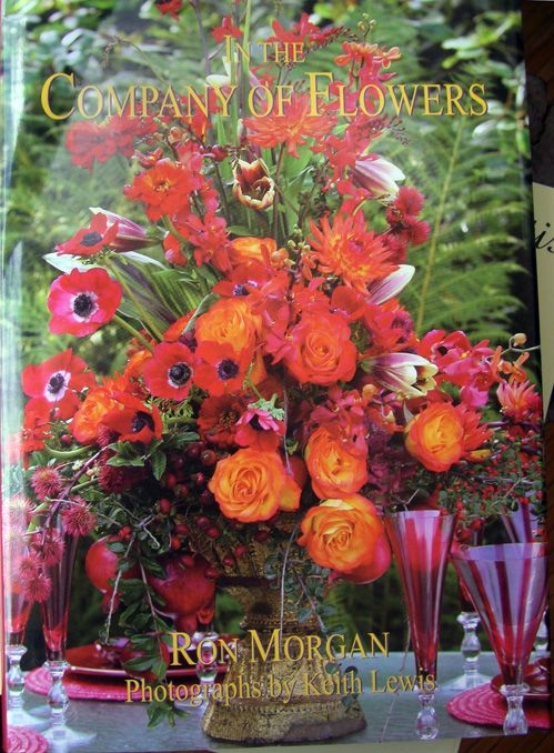 In the Company of Flowers by Ron Morgan $39 Autographed