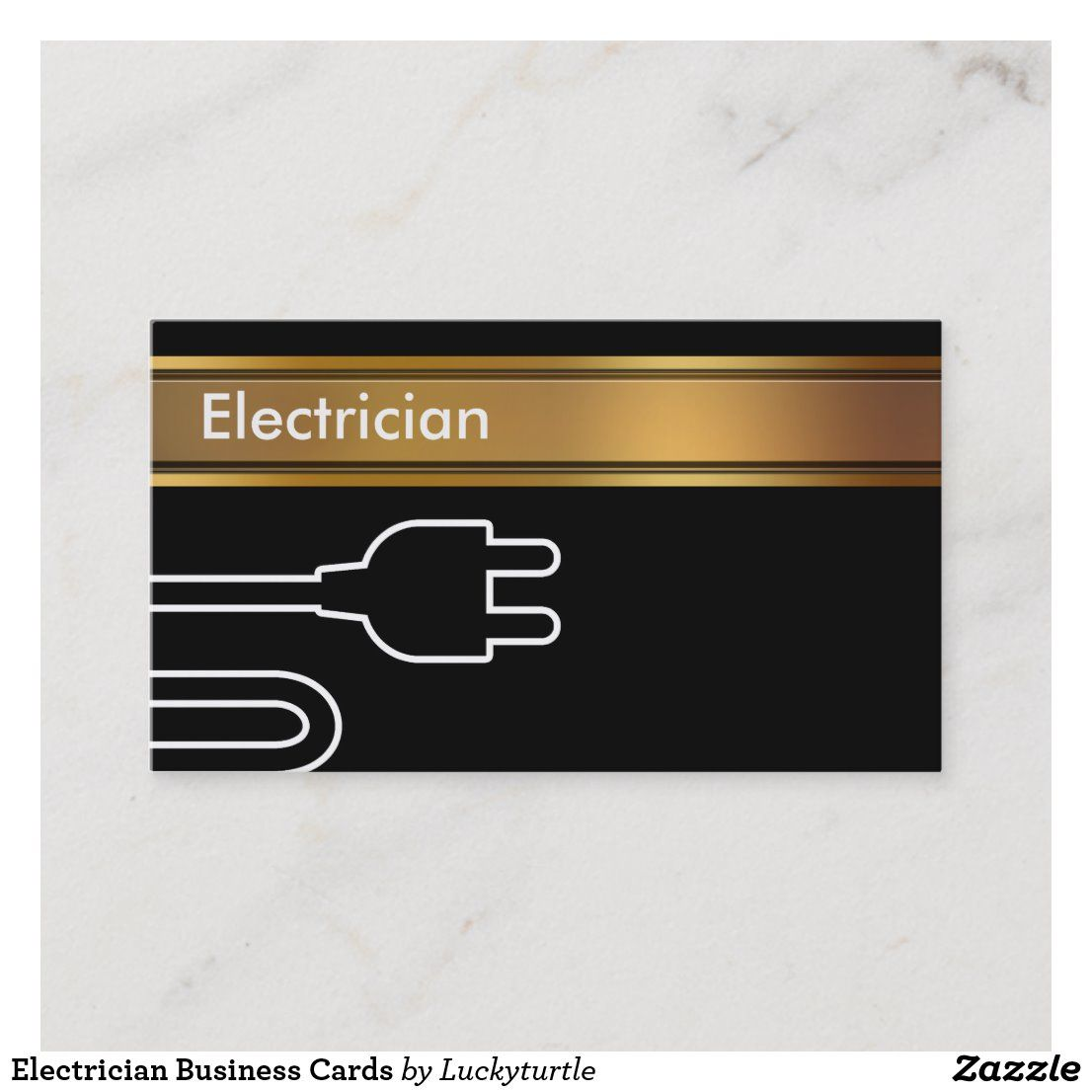 Electrician Business Cards Zazzle Com In 2021 Electrician Cards Business