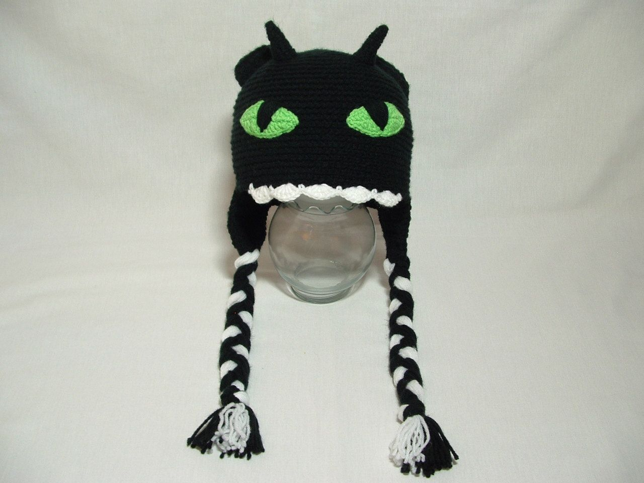 Crochet How to train your Dragon Nightmare Hat Girl or Boy.. $21.00 ...