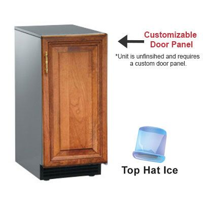 Captivating Scotsman SCCG30MA1SU Undercounter Top Hat Ice Maker   30 Lbs/day, Gravity  Drain