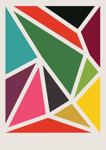 A Few Nice Things Geometric Art Shape Art Pattern Art
