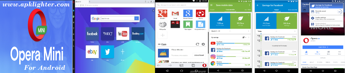 opera mini app Apk download for android Android features