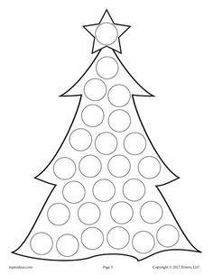 10 FREE Christmas Do A Dot Printables
