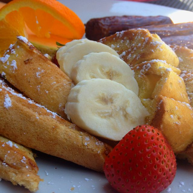 Baileys Creme French Toast w/ Banana...