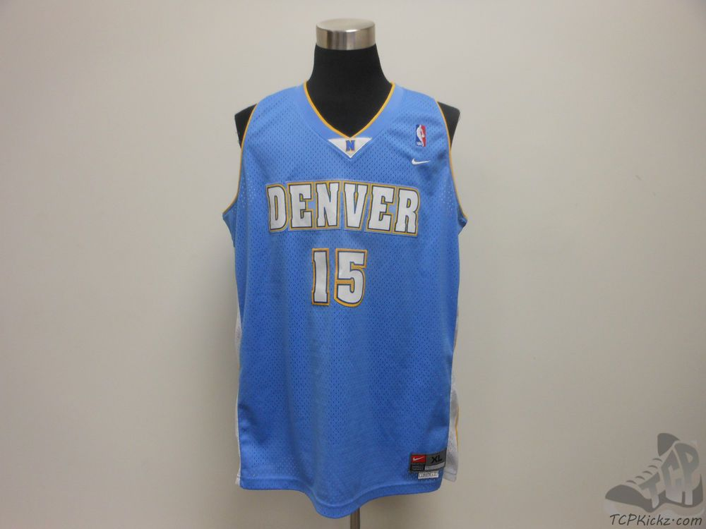 Mens Nike Denver Nuggets Carmelo Anthony  15 Basketball Jersey sz XL Extra  Large  Nike 69bad50a8