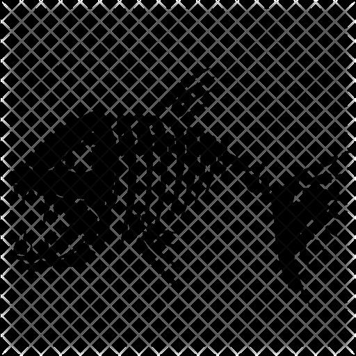 Skeleton Fish Svg Free Google Search Fishing Svg Black And White Free Svg