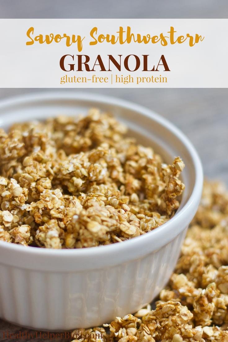Savory Southwestern Granola Recipe Healthy Breakfast Ideas