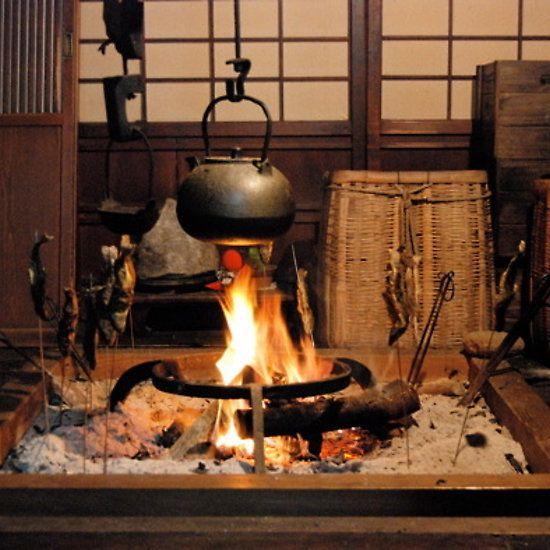 Japanese Inspired Kitchen Design: IRORI (Fireplace ) 2, JAPAN