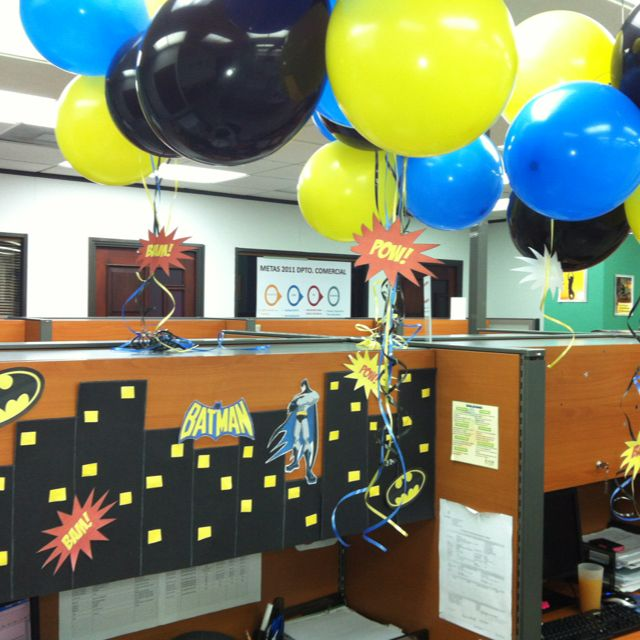 Fiesta de oficina deco pinterest fiestas de oficina - Ideas decoracion oficina ...