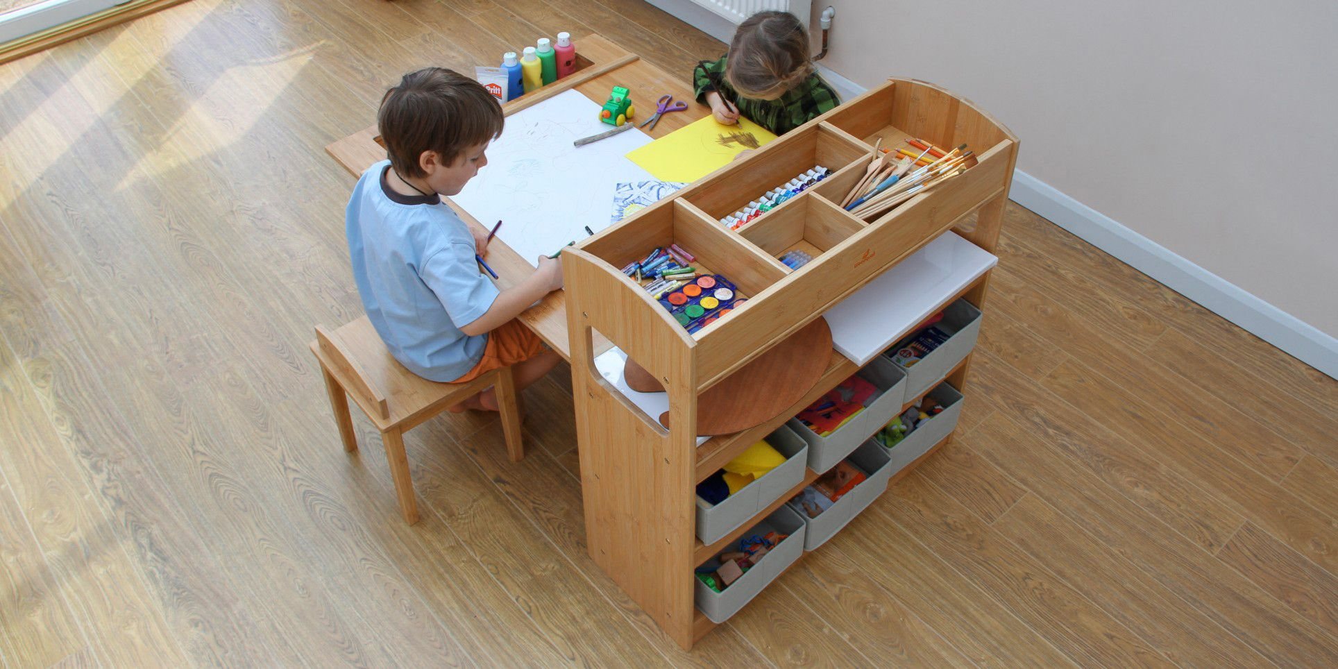 Children S Arts And Crafts Table And Chairs Finoak