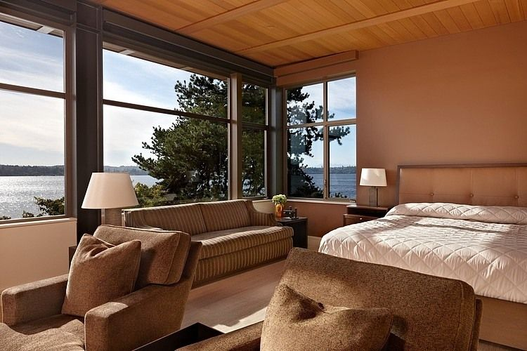 lake house two by mcclellan architects best bedroom on lake house interior color schemes id=44073