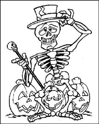 Printable Halloween Spider Coloring Pages | Halloween Cards: Happy ...