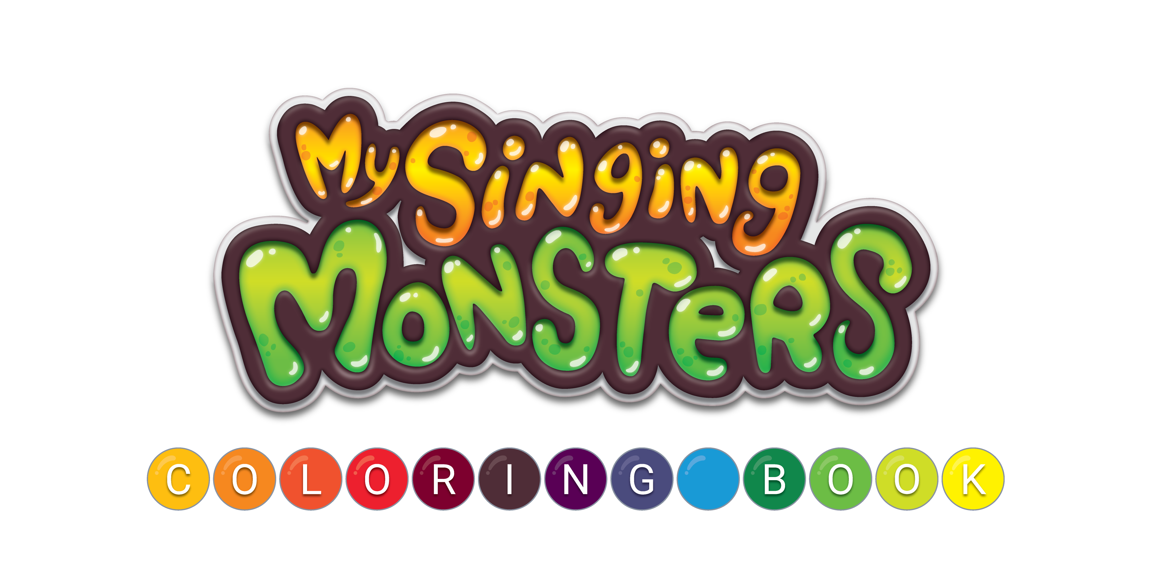 My Singing Monsters Coloring Book Big Blue Bubble Old and New