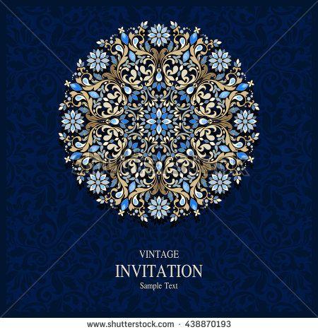 Wedding Invitation Or Card With Abstract Background Islam Arabic Indian Dubai Wedding Cards Wedding Invitation Cards Invitations