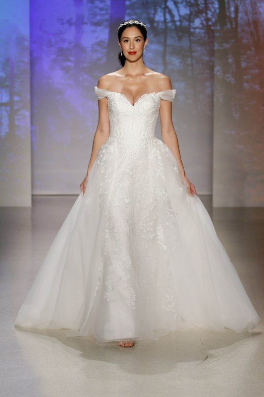 Your first look at the 2017 disney wedding gowns from alfred your first look at the 2017 disney wedding gowns from alfred angelo junglespirit Choice Image