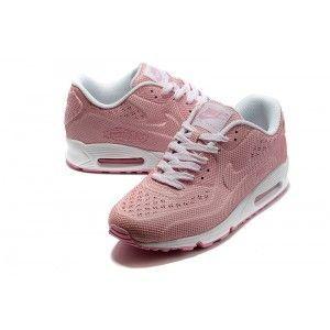 best loved fbf33 7d24e Nike Air Max 90 Vt Tweed Zapatillas Para Mujer Rosa Blanco
