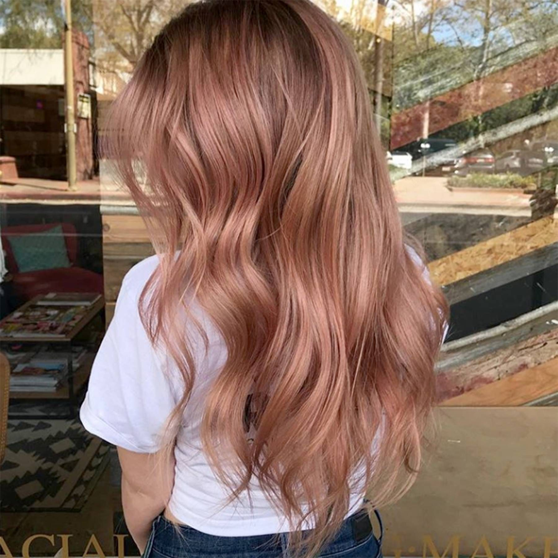 This is why you absolutely should dye your hair rose gold in lockdown