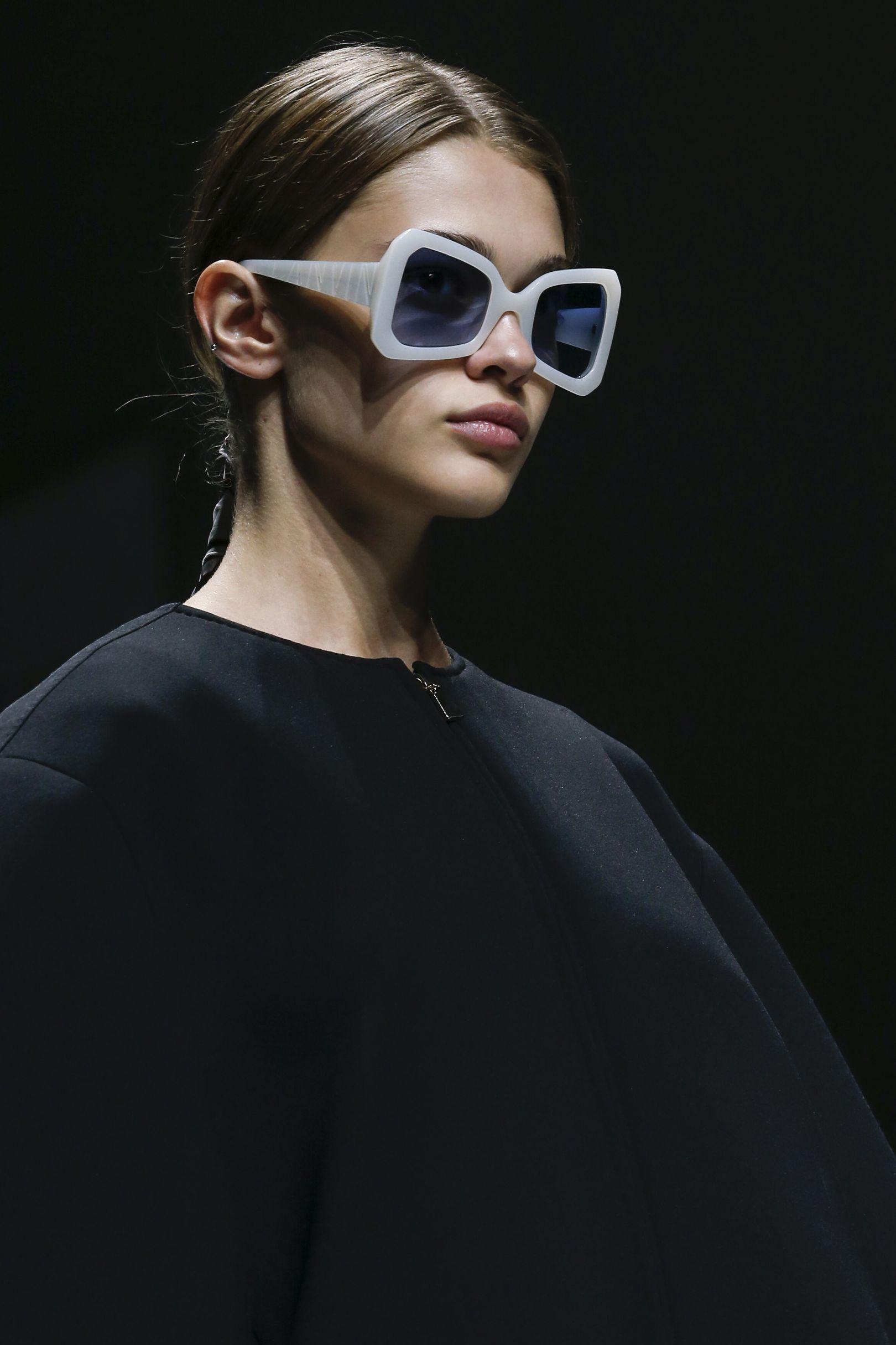4aa5f1dadd From Dolce   Gabbana s raffia-trimmed offerings to Prada s Matrix-style  angular specs