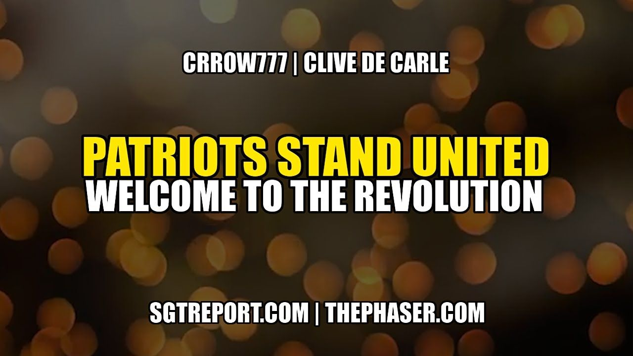 Patriots Stand United Welcome To The Revolution In 2020 The Unit Revolution Patriots