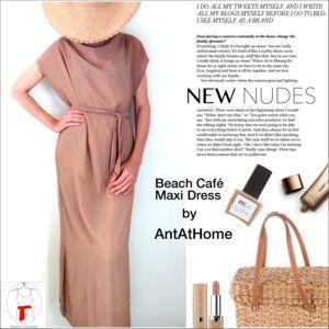 Beach Café Maxi Dress (AntAtHome Shop)