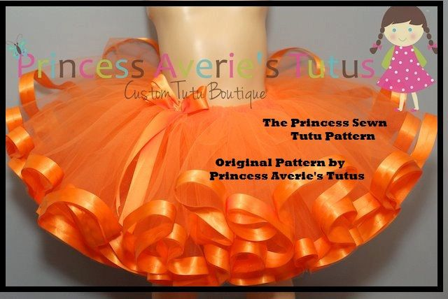 INSTANT DoWnLoAd TUTORIAL Pattern SEWN Princess Tutu with Ribbon ...